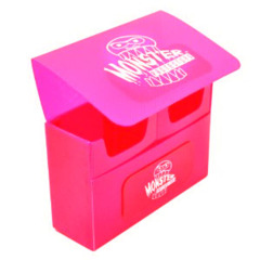 Monster Protectors Double Deck Box - Pink on Ideal808