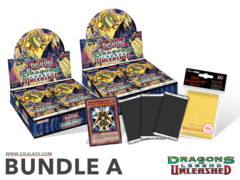Yugioh Dragons of Legend: Unleashed Bundle (A) - Get x2 Booster Boxes + Bonus Items (See Description)