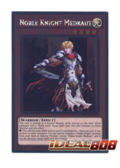 Noble Knight Medraut - NKRT-EN006 - Platinum Rare - Limited Edition