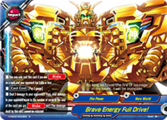 Brave Energy Full Drive! - H-EB02/0033 - R - Foil