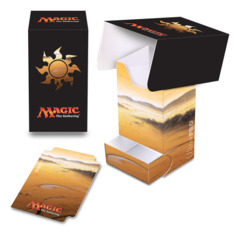 Magic the Gathering MANA 5 Ultra Pro Deck Box with Tray - Plains (#86531)