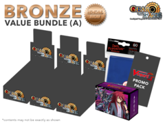 Cardfight Vanguard G-CB04  Bundle (A) Bronze - Get x3 Gear of Fate Booster Box + FREE Bonus Item