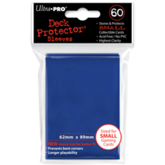 Ultra Pro Small Sleeves 60ct. - Blue on Ideal808