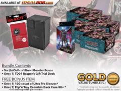 Dragoborne BT02 Bundle (C) - Get x6 Oath of Blood Booster Boxes & x1 TD04 Reaper's Gift Trial Deck + FREE Bonus Items * PRE-ORDE