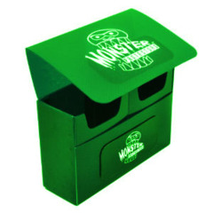 Monster Protectors Double Deck Box - Green on Ideal808