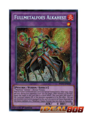 Fullmetalfoes Alkahest - INOV-EN039 - Secret Rare - 1st Edition