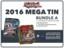 Yugioh 2016 Mega-Tin Bundle (A) - Get x4 2016 Mega-Tins (2 of Each) + Free Bonus Item (See Description) * Pre-Order Ships Sep.2
