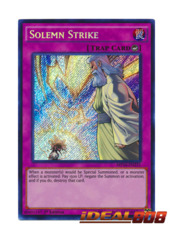 Solemn Strike - MP16-EN231 - Secret Rare - 1st Edition