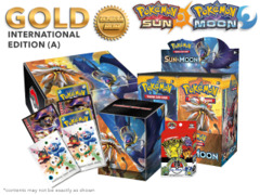 Pokemon SM01 Bundle (A) International Edition - Get x1 SM Sun & Moon Booster Box, & Card Accessories * PRE-ORDER Ships Feb.3
