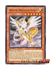 Hieratic Dragon of Tefnuit - Rare - GAOV-EN022 (Unlimited) on Ideal808