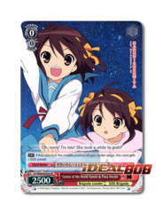 Center of the World Haruhi & Puny Haruhi [SY/W08-E055S SR (FOIL)] English