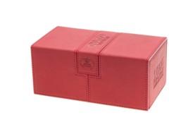 Twin Flip'n'Tray Xenoskin™ Deck Case 200+ by UltimateGuard - Red
