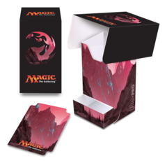 Magic the Gathering MANA 5 Ultra Pro Deck Box with Tray - Mountain (#86534)