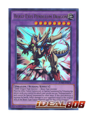 Beast-Eyes Pendulum Dragon - JUMP-EN074 - Ultra Rare - Limited Edition