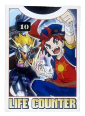 Buddyfight Life Counter - Gao Mikado (Drum Bunker Dragon)