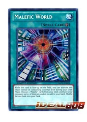 Malefic World - Secret Rare - YMP1-EN008 on Ideal808