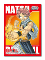 Fairy Tail [Natsu Dragneel] Weiss Schwarz Gold/Silver Redemption Promo Large Sleeves (50ct) on Ideal808