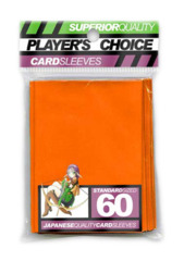 Player's Choice Standard Card Sleeves - Orange