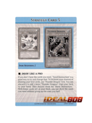 Duelist Pack Jesse Anderson - DP07 - Complete Strategy Card Set + Checklist