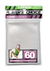 Player's Choice Standard Card Sleeves - Clear