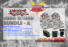 Yugioh SHVI Bundle (A) - Get x2 Shining Victories Booster Boxes + FREE Starter Kit (See Description)