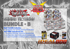 Yugioh SHVI Bundle (B) - Get x4 Shining Victories Booster Boxes + FREE Advanced Kit (See Description)