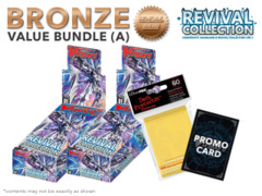 Cardfight Vanguard G-RC01 Bundle (A) Bronze - Get x2 Revival Collection Booster Box + FREE Bonus Items