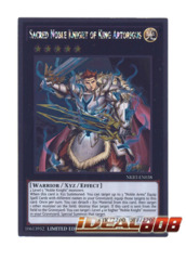 Sacred Noble Knight of King Artorigus - NKRT-EN038 - Platinum Rare - Limited Edition