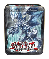 Yugioh 2013 CT10 Wave 1 Collector's Tin - Tidal, Dragon Ruler of Waterfalls