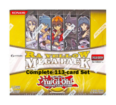 Yugioh Ra-Yellow Mega Pack Complete 113-Card Set (1st Edition TCG Release) on Ideal808