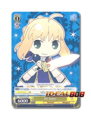 SD Saber [FS/S34-E102 PR] English Promo