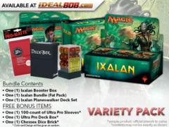 MTGXLN Variety Pack - Get x1 Ixalan Booster Box; x1 Bundle; & 1 Planeswalker Deck Set+ FREE Bonus Items * PRE-ORDER Ships Sep.29
