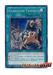 Gladiator Taming - EXVC-EN087 - Secret Rare - 1st Edition