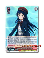 Otonokizaka High 2nd Year, Umi [LL/W24-E052S SR (FOIL)] English