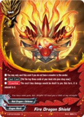 Fire Dragon Shield [D-BT02/0022EN R (FOIL)] English