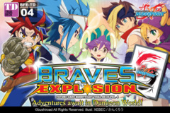 BFE-TD04 Braves Explosion (English) Future Card Buddyfight Trial Deck on Ideal808