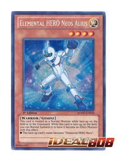 Elemental HERO Neos Alius - Secret - RYMP-EN010 on Ideal808