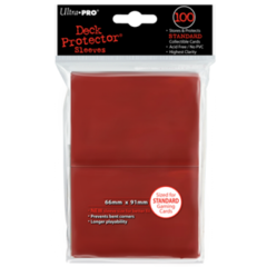Ultra Pro Large Sleeves 100ct. - Red on Ideal808