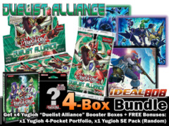 Yugioh DUEA Bundle (B) - Get x4 Duelist Alliance Booster Boxes + FREE Bonus (Binder & SE Pack) * Ships August 15, 2014 on Ideal808