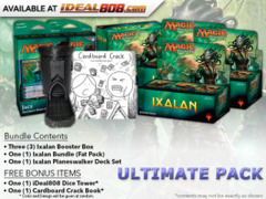 MTGXLN Ultimate Pack - Get x3 Ixalan Booster Box; x1 Bundle; & 1 Planeswalker Deck Set + FREE Bonus Items * Ships Sep.29