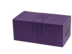 Twin Flip'n'Tray Xenoskin™ Deck Case 200+ by UltimateGuard - Purple