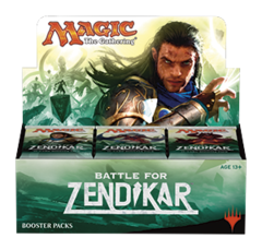 Battle for Zendikar (BFZ) Booster Box