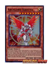 Archlord Kristya - DESO-EN050 - Super Rare - 1st Edition