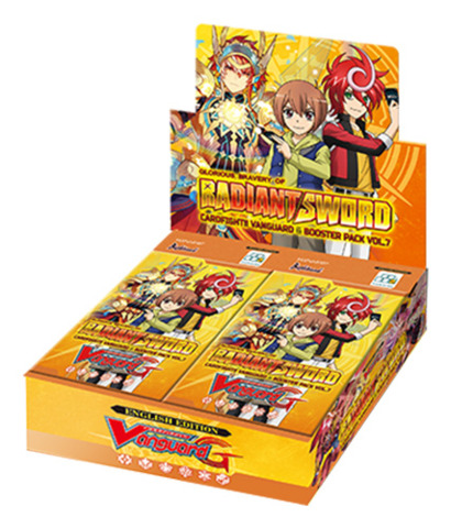 CFV-G-BT07 Glorious Bravery of Radiant Sword (English) Cardfight Vanguard G-Booster Box