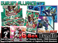 Yugioh DUEA Bundle (C) - Get x6 Duelist Alliance Booster Boxes + FREE Bonus (Playmat & SE Pack) * Ships August 15, 2014 on Ideal808