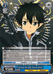 Getting the Holy Sword, Kirito [SAO/SE26-E29SP SP (SIGNED FOIL)] English
