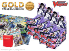 Cardfight Vanguard G-TB02 Bundle (C) Gold - Get x8 Touken Ranbu -ONLINE- 2 Booster Box + FREE Bonus Items