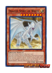 Dragon Spirit of White - LDK2-ENK02 - Common - 1st Edition