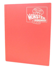 Monster Protectors 9 Pocket Binder - Matte - Pink on Ideal808