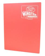 Monster Protectors 9 Pocket Binder - Matte - Pink